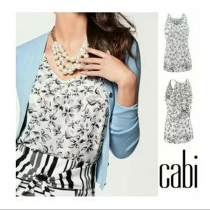 Cabi Moody Floral Terrace Cami Size Small